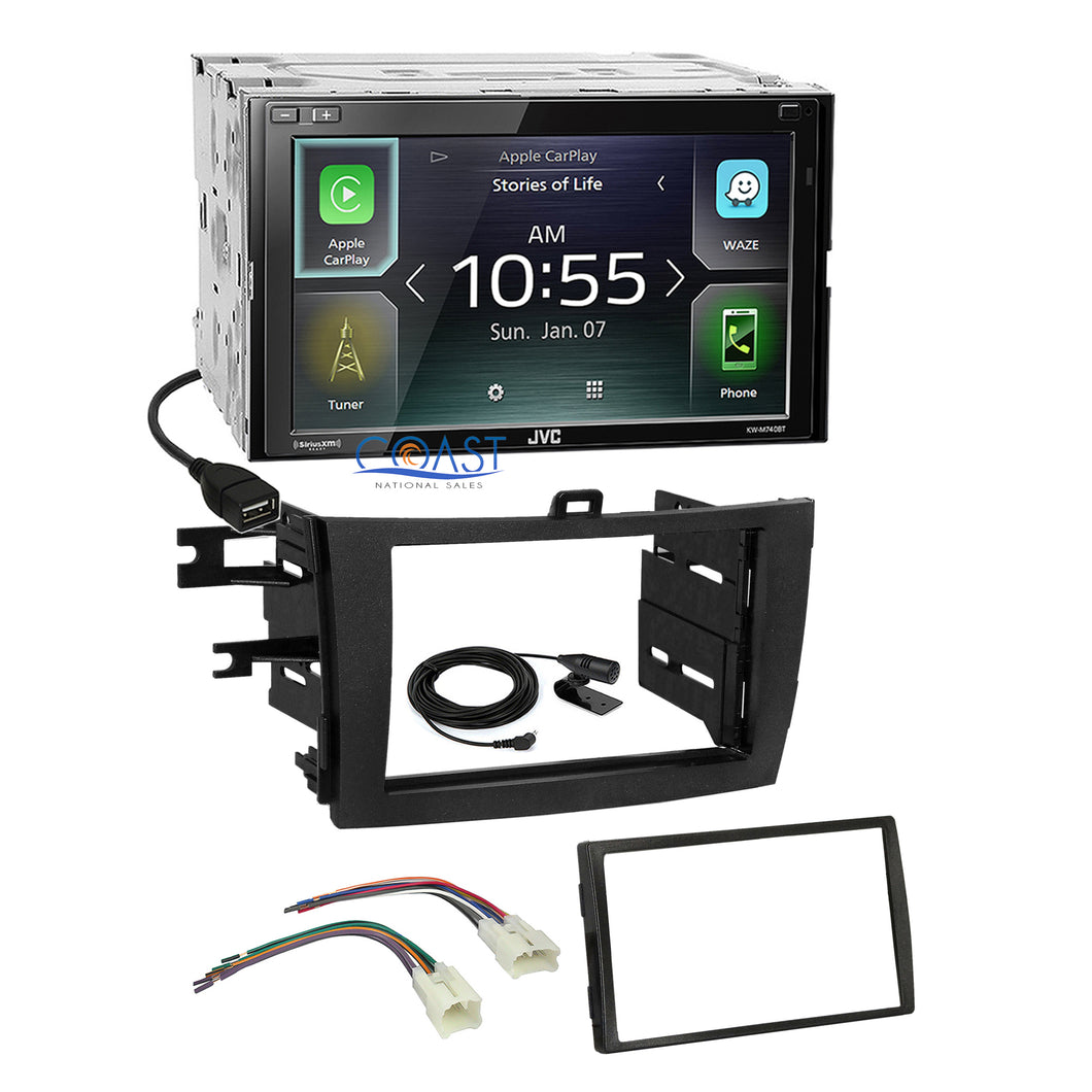 JVC 2018 Carplay Multimedia Stereo Dash Kit Harness for 2009-13 Toyota Corolla