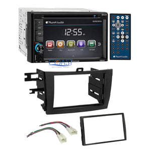 Planet Audio DVD Bluetooth Stereo Dash Kit Harness for 2009-13 Toyota Corolla