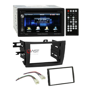 Power Acoustik DVD USB Bluetooth Stereo Dash Kit Harness for 2006+ Toyota RAV4