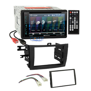 Soundstream DVD USB Bluetooth Stereo Dash Kit Harness for 09-13 Toyota Corolla