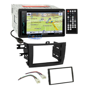 Soundstream DVD GPS Bluetooth Stereo Dash Kit Harness for 09-13 Toyota Corolla