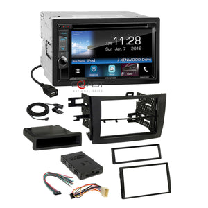Kenwood DVD Weblink Sirius Stereo Dash Kit JBL Harness for 09-11 Toyota Corolla