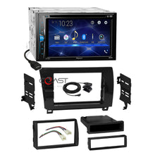 Load image into Gallery viewer, Pioneer DVD Bluetooth Stereo Gloss Dash Kit Harness for 07+ Toyota Tundra Sequoia