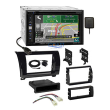 Load image into Gallery viewer, Pioneer DVD GPS Carplay Stereo Gloss Dash Kit Harness for Toyota Tundra Sequoia