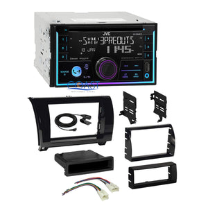 JVC CD Sirius Ready Stereo Gloss Dash Kit Harness for 07+ Toyota Tundra Sequoia