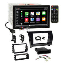 Load image into Gallery viewer, Soundstream DVD Carplay Stereo Gloss Dash Kit Harness for Toyota Tundra Sequoia