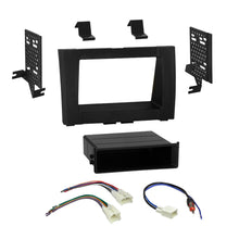 Load image into Gallery viewer, Car Radio Stereo Single 2 Din Dash Kit Wire Harness for 2014-up Toyota Tundra