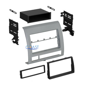 Car Radio Stereo Single Double DIN Dash Kit Trim for 2005-2011 Toyota Tacoma