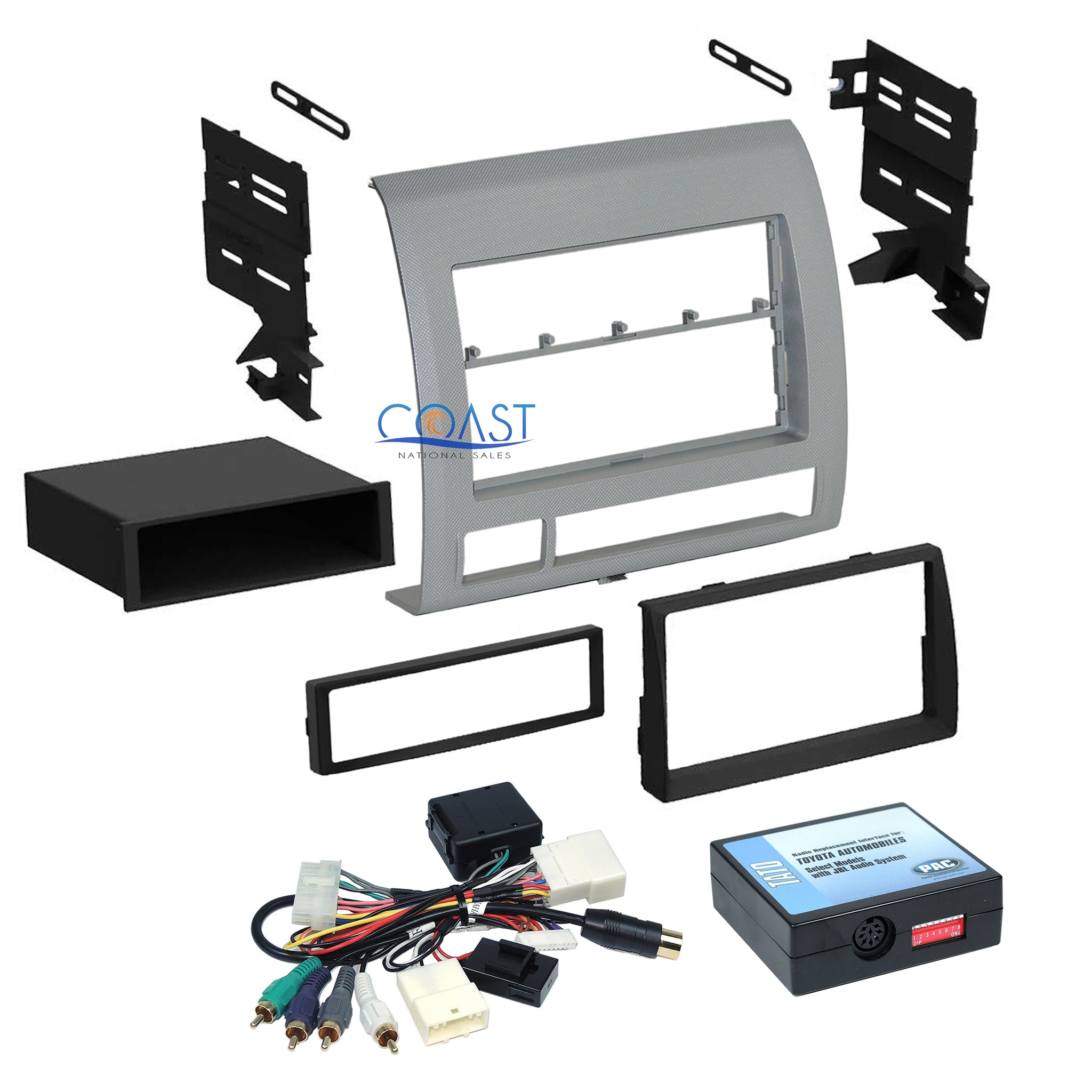 2011 toyota tacoma wiring harness car radio stereo dash kit jbl factory wire harness for 2005 2011  car radio stereo dash kit jbl factory