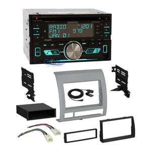 Kenwood CD Sirius Bluetooth Stereo Dash Kit Harness for 2005-2011 Toyota Tacoma