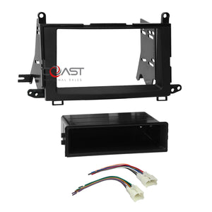 car radio stereo din 2din dash kit wire harness for 2009-2015 toyota venza