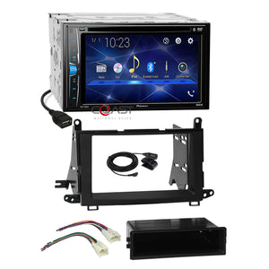 Pioneer DVD USB BT Camera Ready Stereo Dash Kit Harness for 09-15 Toyota Venza