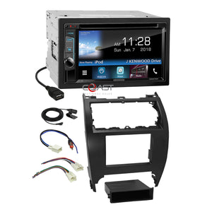 Kenwood Bluetooth Weblink Stereo 2Din Dash Kit Harness for 2012-14 Toyota Camry