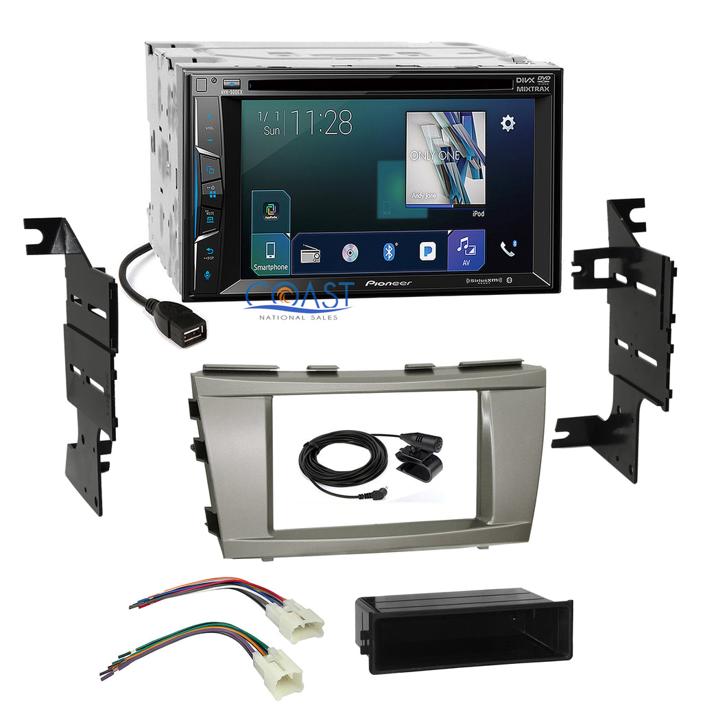 Pioneer 2018 AppRadio Sirius Ready Stereo Dash Kit Harness for 07+ Toyota Camry