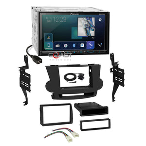 Pioneer DVD Spotify GPS Ready 2Din Dash Kit Harness for 08-13 Toyota Highlander