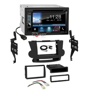 Kenwood DVD Sirius Spotify 2Din Dash Kit Harness for 2008-13 Toyota Highlander