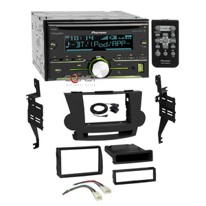 Pioneer CD Sirius Bluetooth 2Din Dash Kit Harness for 2008-13 Toyota Highlander