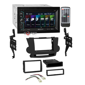 Soundstream DVD USB Bluetooth 2Din Dash Kit Harness for 08-13 Toyota Highlander