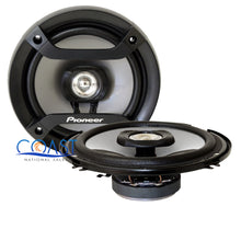 "Load image into Gallery viewer, Pioneer Car Audio Pro Flush 6.5"" 200W 2-Way Coaxial Speaker TS-F1634R - Pair"