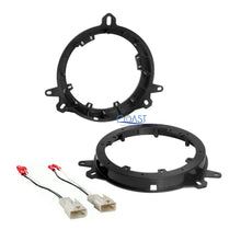 "Load image into Gallery viewer, Car 6"" to 6.75"" Front Speaker Adapters Harness for 2001-up Toyota Lexus Scion"