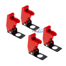 Load image into Gallery viewer, 4X Car Marine Industrial Spring-Loaded Toggle Switch Safety Cover - Red