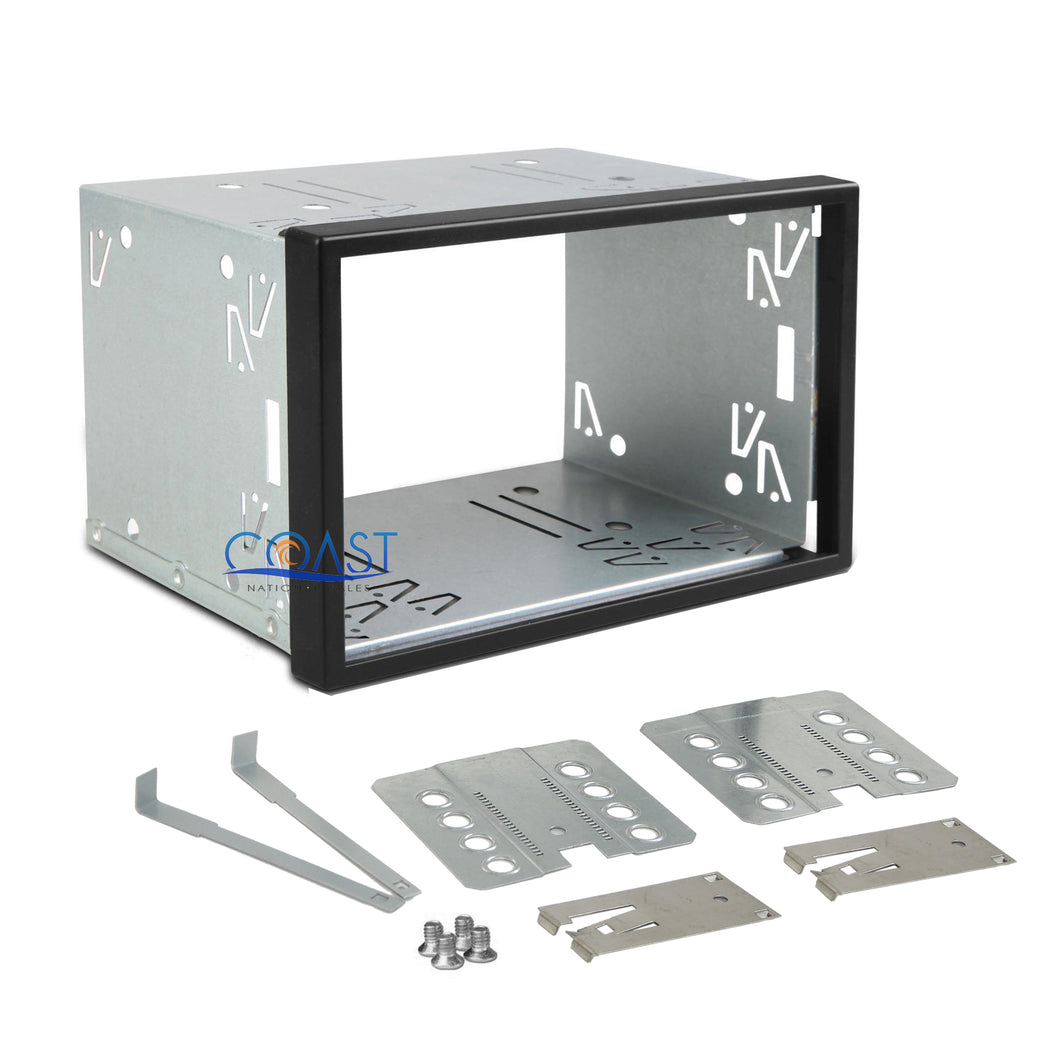 Car Radio Stereo Replacement 100mm Double Din Dask Kit Cage Box for HeadUnit