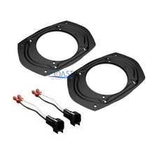 "Load image into Gallery viewer, Universal Car 5""x 7"" 6""x 8"" to 6.5"" Speaker Adapter Brackets Harness for Ford"
