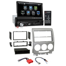 "Load image into Gallery viewer, Soundstream Bluetooth Radio 7"" Touchscreen Dash Kit Harness For 2006-10 Mazda 5"