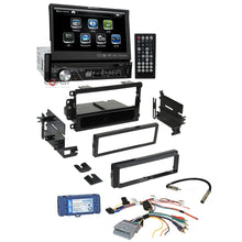 "Load image into Gallery viewer, Soundstream Bluetooth 7"" Touchscreen Dash Kit Interface for 2000+ GM Chevrolet"