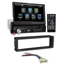 "Load image into Gallery viewer, Soundstream Bluetooth Radio 7"" LCD Touchscreen Dash Kit For 1996-98 Honda Civic"