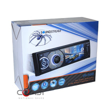 "Load image into Gallery viewer, Soundstream 3.4"" LCD Radio Single Din Dash Kit Harness for 2011-13 Dodge Jeep"