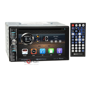Soundstream DVD USB Android Dash kit Amp Harness for 2006+ Chevy Pontiac Saturn