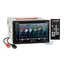Load image into Gallery viewer, Soundstream DVD USB Bluetooth 2Din Stereo Dash Kit Harness for 06-08 Dodge Ram