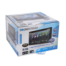 Load image into Gallery viewer, Soundstream DVD Dual USB stereo Dash Kit Amp Harness for Ford Lincoln Mercury