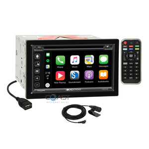 Soundstream Carplay Bluetooth Stereo Dash Kit Harness for 10-13 Toyota 4Runner