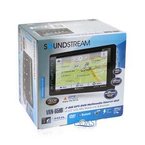 Soundstream DVD GPS Bluetooth Stereo Dash Kit Harness for 10-13 Toyota 4Runner