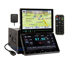 Load image into Gallery viewer, Soundstream 2 Screen GPS Bluetooth Stereo Dash Kit Harness for 06-08 Dodge Ram