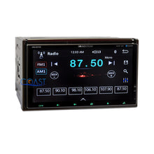 Load image into Gallery viewer, Soundstream Dual Screen DVD GPS Stereo Dash Kit Amp Harness for GM Chevrolet
