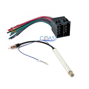 Car Radio Stereo Wiring Harness Antenna Adapter for 1994-2010 Audi Vol –  Installer OutletInstaller Outlet