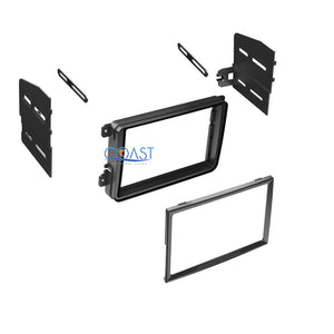 Single Double DIN Stereo Dash Kit + Harness + Antenna for 2005-2010 Volkswagon