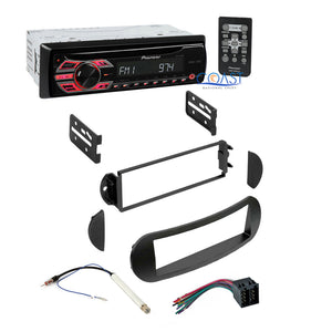 Pioneer Car Radio Stereo Dash Kit Wire Harness for 1998-2011 Volkswagon on