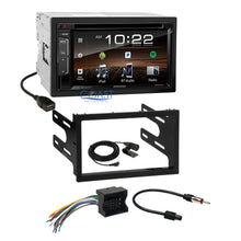 Load image into Gallery viewer, Kenwood Sirius Bluetooth Stereo Dash Kit Harness for 02+ VW Jetta Golf Passat