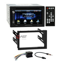 Load image into Gallery viewer, Power Acoustik DVD USB BT Stereo Dash Kit Harness for 02+ VW Jetta Golf Passat