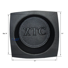 "Load image into Gallery viewer, Universal 10"" Black Round Foam Acoustic Car Audio Stereo Speaker Baffles VXT102"