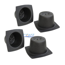 "Load image into Gallery viewer, 2X Universal 6.5"" Black Round Foam Large Frame Audio Speaker Baffles VXT60"