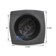 "Load image into Gallery viewer, Universal 6.5"" Black Round Foam Acoustic Car Audio Stereo Speaker Baffles VXT65"