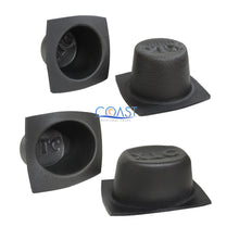 "Load image into Gallery viewer, Universal 5.25"" & 6""x 8"" Black Foam Acoustic Car Speaker Baffle Set VXT55 VXT68"