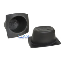 "Load image into Gallery viewer, Universal 5.25"" & 6""x 9"" Black Foam Acoustic Car Speaker Baffle Set VXT55 VXT69"