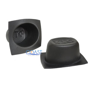"Universal 5.25"" & 6""x 9"" Black Foam Acoustic Car Speaker Baffle Set VXT55 VXT69"