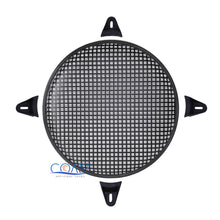 "Load image into Gallery viewer, 15"" SubWoofer Metal Mesh Cover Waffle Speaker Grill Protect Guard DJ Car Audio"